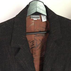 Chico's blazer with Chinese silk lining.